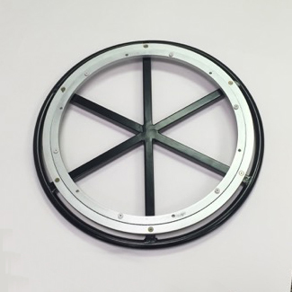 20 Ring Base W 18 Aluminum Swivel With Stainless Steel